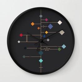 winter equinox Wall Clock