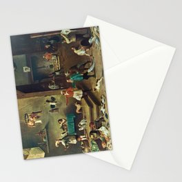 The Kitchen by David Teniers the Younger Stationery Cards
