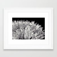 silver Framed Art Prints featuring silver by Bonnie Jakobsen-Martin