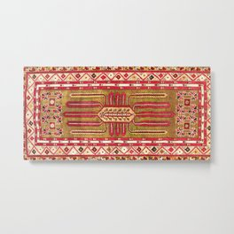 Kirsehir Central Anatolian Rug Print Metal Print