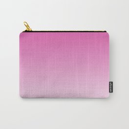 Simply girly pink color gradient - Mix and Match with Simplicity of Life Carry-All Pouch