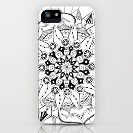 Mandala Series 03 iPhone Case