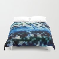 fog Duvet Covers featuring Fog by MonsterBrown