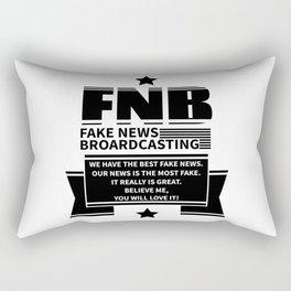 Fake News Rectangular Pillow