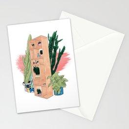 Office Plants Stationery Cards