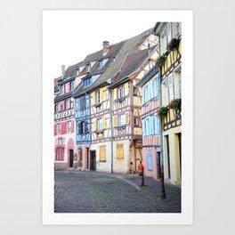 Colorful Colmar Art Print