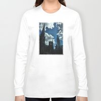 philadelphia Long Sleeve T-shirts featuring Philadelphia by Julie Maxwell