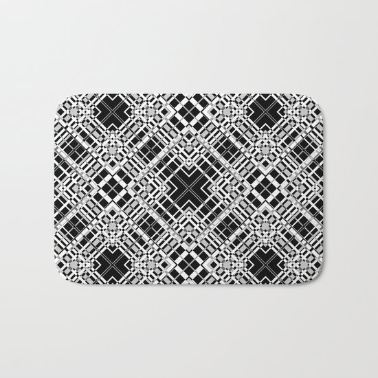 Geometric pattern. Elsa .1 Bath Mat