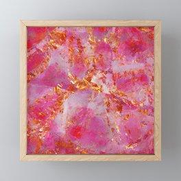 Dauntless Pink | Vivid Abstract Framed Mini Art Print