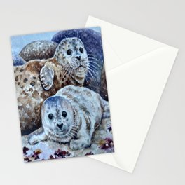 Harbor Seals of Monterey Bay Stationery Cards