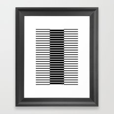 Zebras Play Piano Duet Framed Art Print