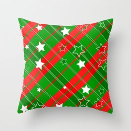 Beautiful cups & accessories at Christmas time Throw Pillow