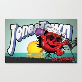 Jonestown, Oh Yeah! Canvas Print
