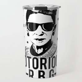 Notorious RBG ready to dissent Ruth Bader Ginsberg Shirt Travel Mug