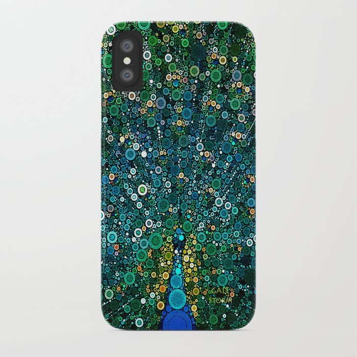 :: Peacock Caper :: iPhone Case