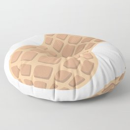 Peanut Emoji Floor Pillow