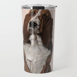 Bassett Hound Travel Mug