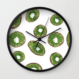 Kiwis Wall Clock