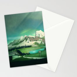 Alpine Enchantment Stationery Cards