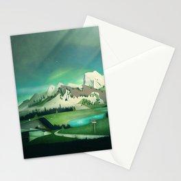 Alpine Enchantment Stationery Cards