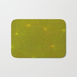 Fireflies and Filaments Bath Mat