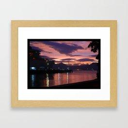 Olongapo Bay, Philippines Framed Art Print