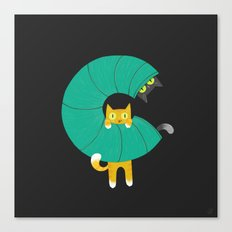 C for Cats Canvas Print