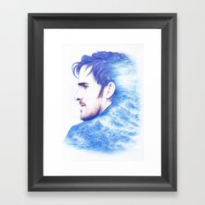 Born With The Sea In His Blood Framed Art Print