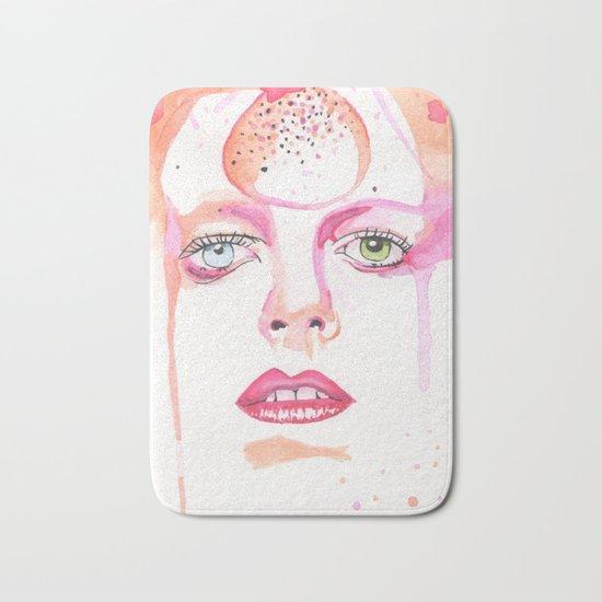 David Bowie Bath Mat