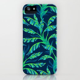 Paradise Leaves - Green iPhone Case