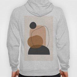 Minimal Abstract Art 12 Hoody