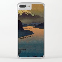 Sunset at Aga Clear iPhone Case
