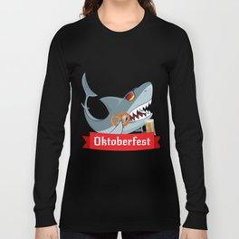 Shark Oktoberfest Funny Long Sleeve T-shirt