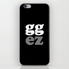 gg ez iPhone & iPod Skin