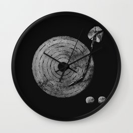 Old Time Rock 'N' Roll Wall Clock