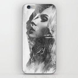 Mountain Lady iPhone Skin