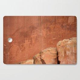 Rock Art Cutting Board