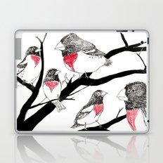 Grosbeak - sketch Laptop & iPad Skin
