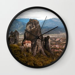 Meteora Panorama Wall Clock