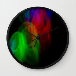 Light Rings V Wall Clock