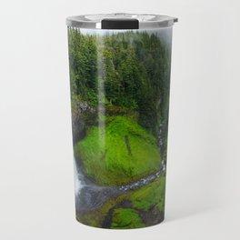 Waterfall Landscape Travel Mug