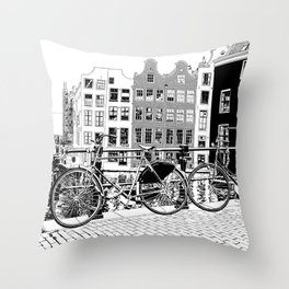 amsterdam II Throw Pillow