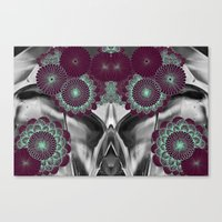 geode Canvas Prints featuring Geode 5 by michiko_design