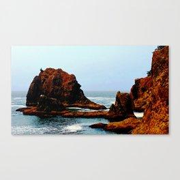 Magical Thunder Rock Cove Canvas Print