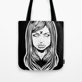 Electric Flower Tote Bag