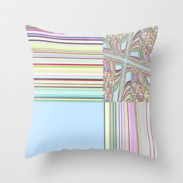 Re-Created Southern Cross VI by Robert S. Lee Throw Pillow