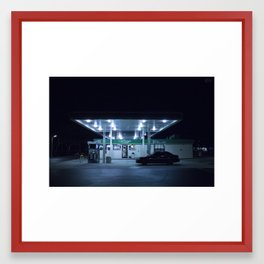 (gas'N'glow) Framed Art Print