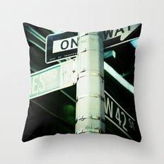 42nd Throw Pillow