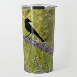 Three Black Birds Travel Mug
