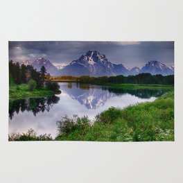 Mt. Moran at Oxbow Bend Rug